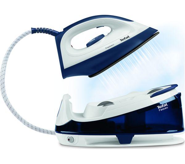 Tefal Steam Iron ~ Buy tefal fasteo sv steam generator iron blue