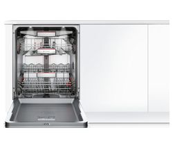 BOSCH Serie 6 SMV68TD06G Full-size Integrated Dishwasher - Stainless Steel