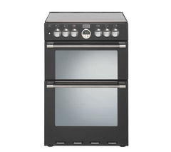 STOVES Sterling 600DF Dual Fuel Cooker - Black
