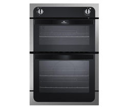 NEW WORLD NW901G Gas Oven - Black & Stainless Steel