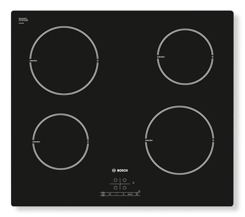 BOSCH PIA611B68B Electric Induction Hob – Black