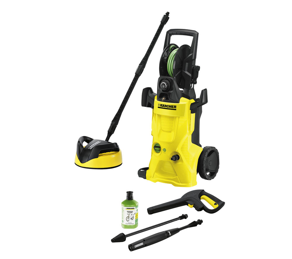 buy karcher k4 premium ecologic home pressure washer 130 bar free delivery currys. Black Bedroom Furniture Sets. Home Design Ideas