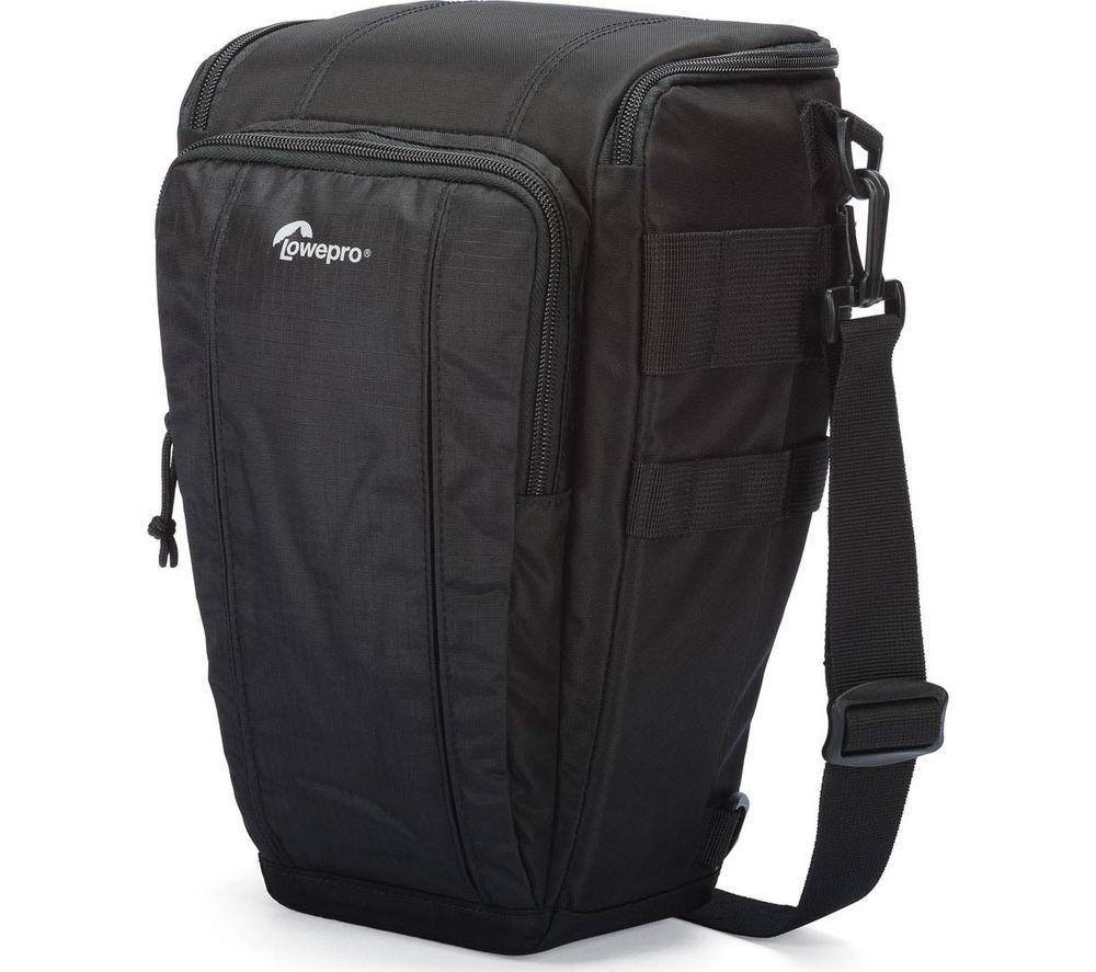LOWEPRO  Toploader 55 AW II DSLR Camera Bag - Black, Black