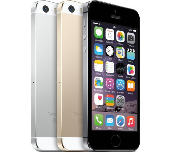buy apple iphone 5s 32 gb silver free delivery currys. Black Bedroom Furniture Sets. Home Design Ideas