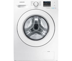 SAMSUNG ecobubble WF80F5E0W2W Washing Machine - White