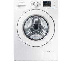 SAMSUNG ecobubble WF80F5E0W2W Washing Machine - White