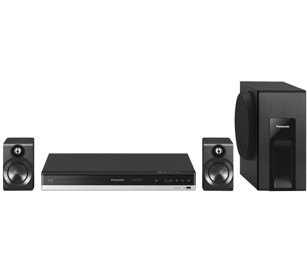 Panasonic sc btt105ebk 2 1 smart 3d home cinema system deals pc world - Home cinema 2 1 blanc ...