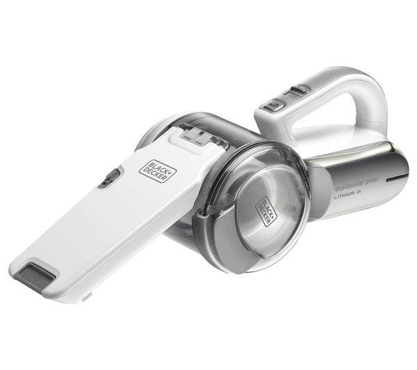 Image of BLACK & DECKER Compact Pivot PV1820L-GB Handheld Vacuum Cleaner - Dark Titanium