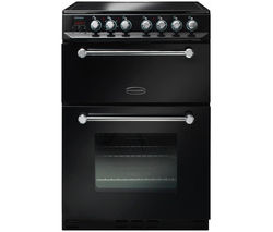 RANGEMASTER Kitchener 60 Electric Ceramic Cooker - Black