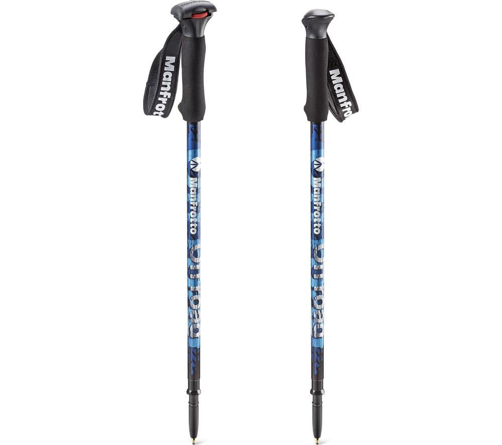 MANFROTTO MMOFFROADB Off Road Walking Sticks Monopod - Blue