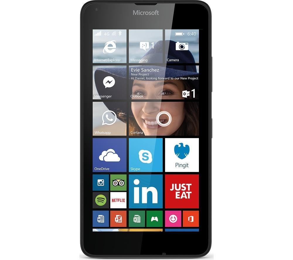 MICROSOFT Lumia 640 - 8 GB, Black