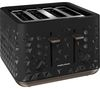 MORPHY RICHARDS Prism 248101 4-Slice Toaster – Black