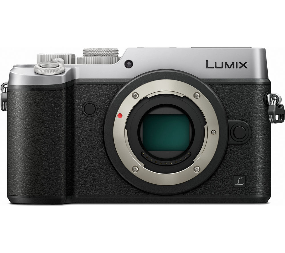 PANASONIC DMC-GX8EB-S Compact System Camera - Silver, Body Only