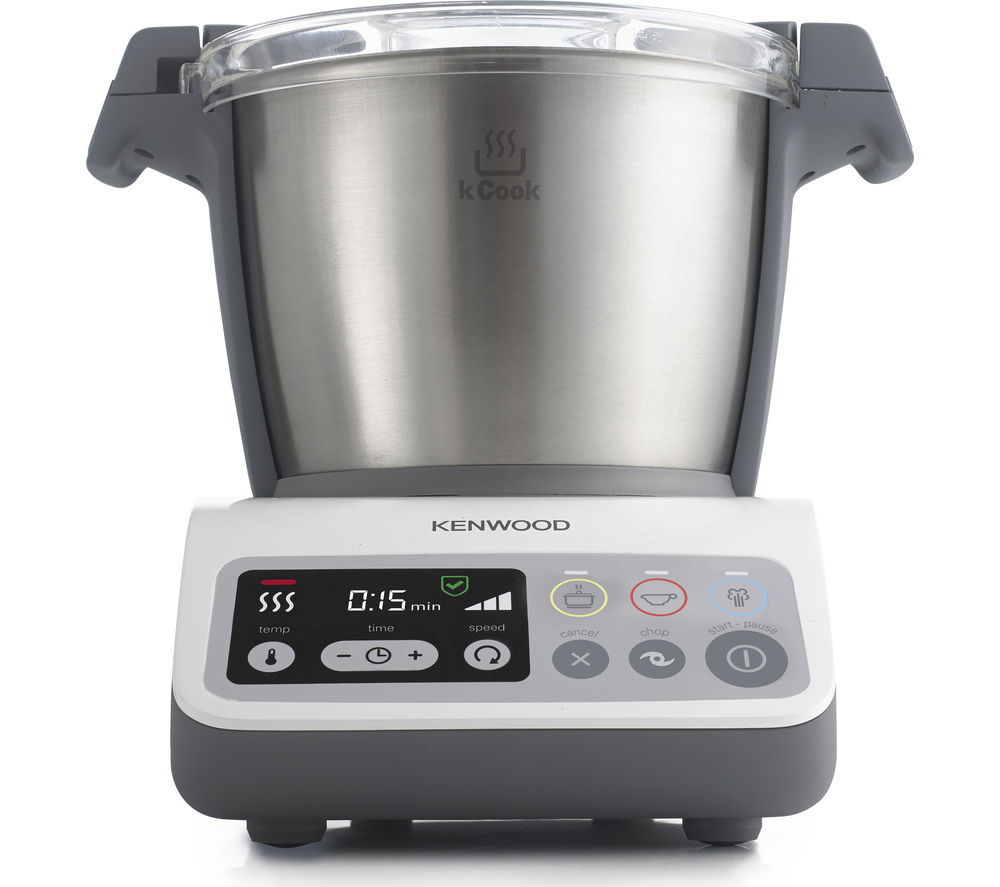 KENWOOD kCook CCC200WH Food Processor - White & Grey