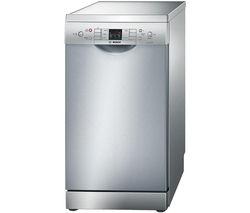 BOSCH Serie 6 SPS53M08GB Slimline Dishwasher - Silver