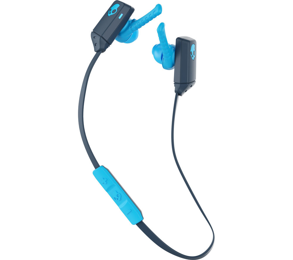 Click to view more of SKULLCANDY  XTfree Wireless Bluetooth Headphones - Blue, Blue