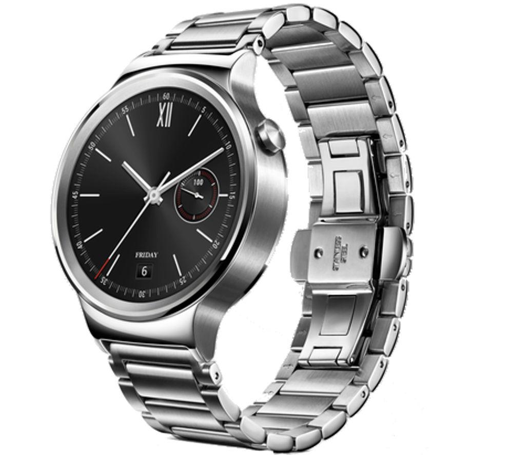HUAWEI Classic Smartwatch - Silver, Steel Strap