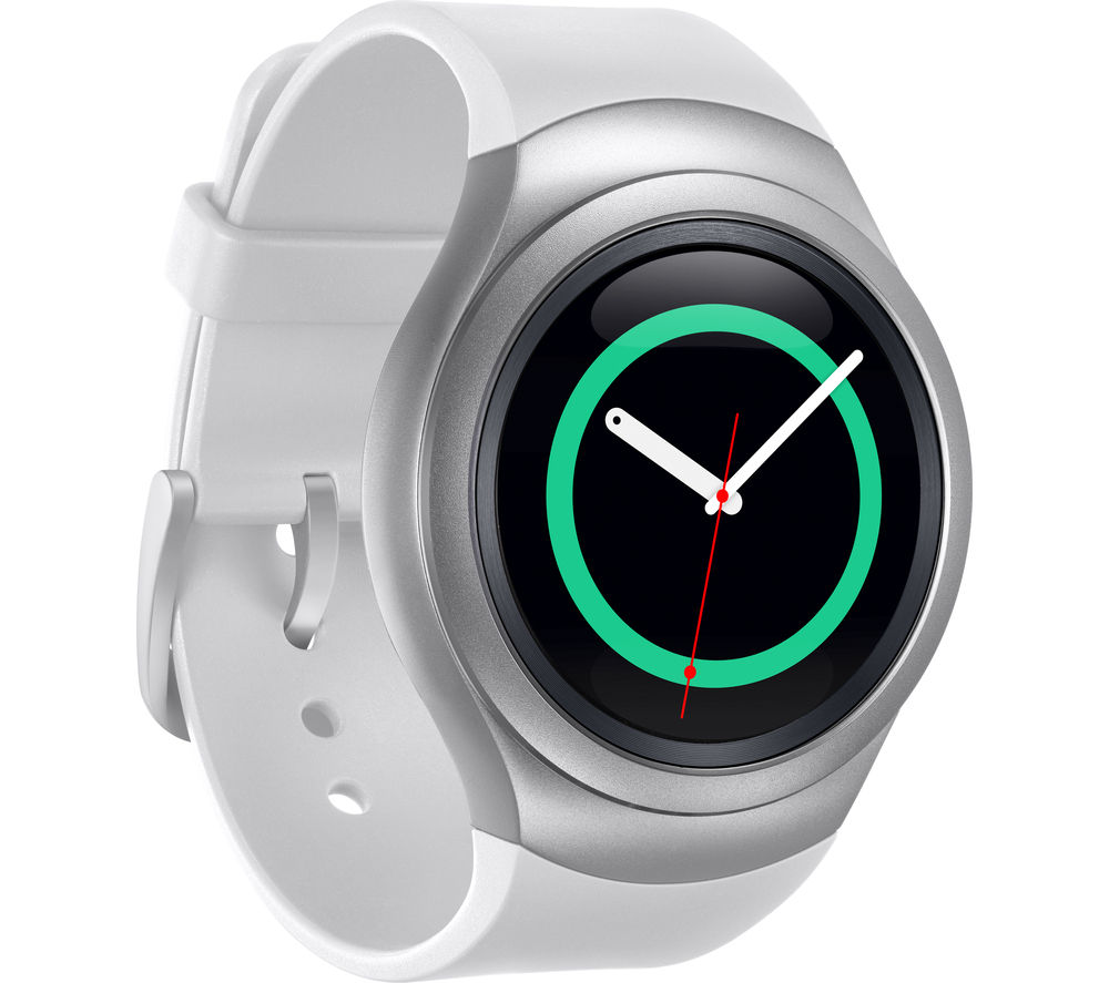 buy samsung gear s2 smartwatch silver free delivery currys. Black Bedroom Furniture Sets. Home Design Ideas