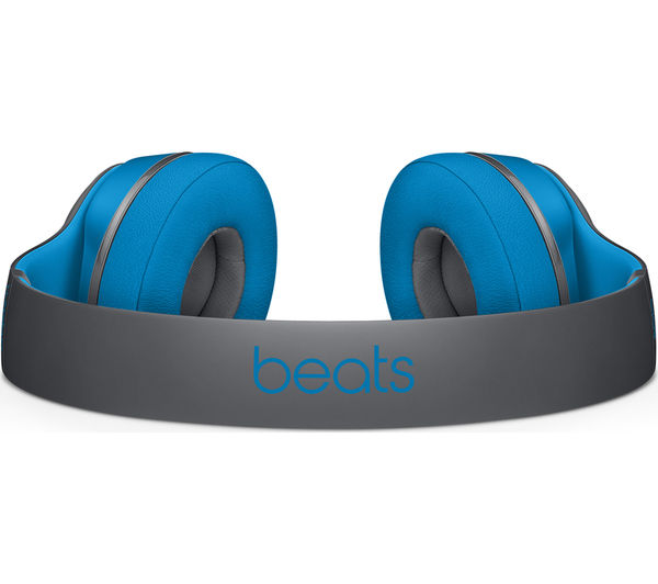 Image of BEATS BY DR DRE Solo 2 Wireless Bluetooth Headphones - Active Collection, Flash Blue