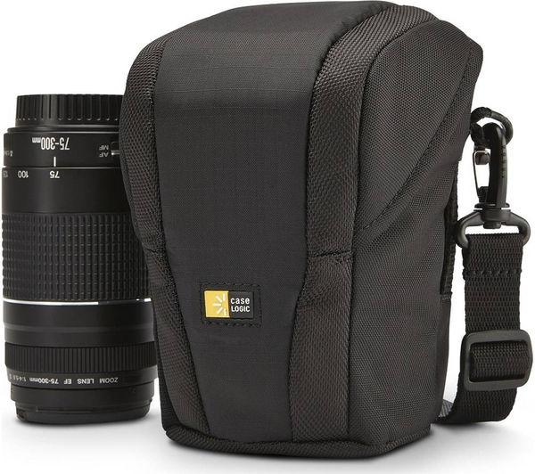 Image of CASE LOGIC DSL101 Luminosity Compact Lens Exchange Case - Black