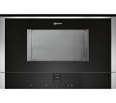NEFF C17WR00N0B Built-In Solo Microwave - Stainless Steel