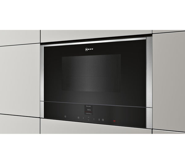 Buy NEFF C17WR00N0B Built In Solo Microwave Stainless