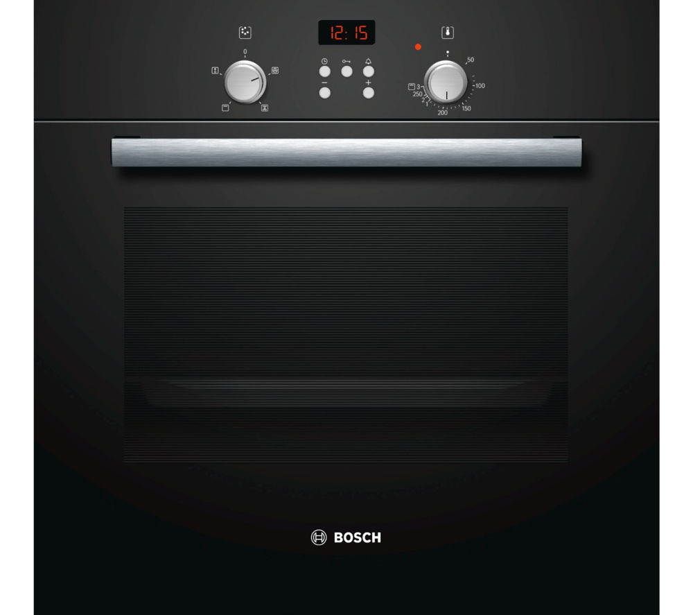 buy bosch hbn331s4b electric oven black free delivery currys. Black Bedroom Furniture Sets. Home Design Ideas