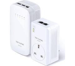 TP-LINK AV500 Wireless Powerline Adapter Kit - Twin Pack