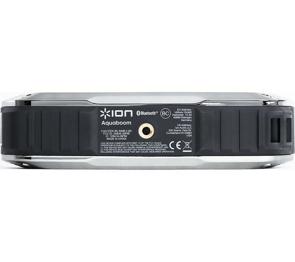 Image of ION Aquaboom Portable Wireless Speaker - Black