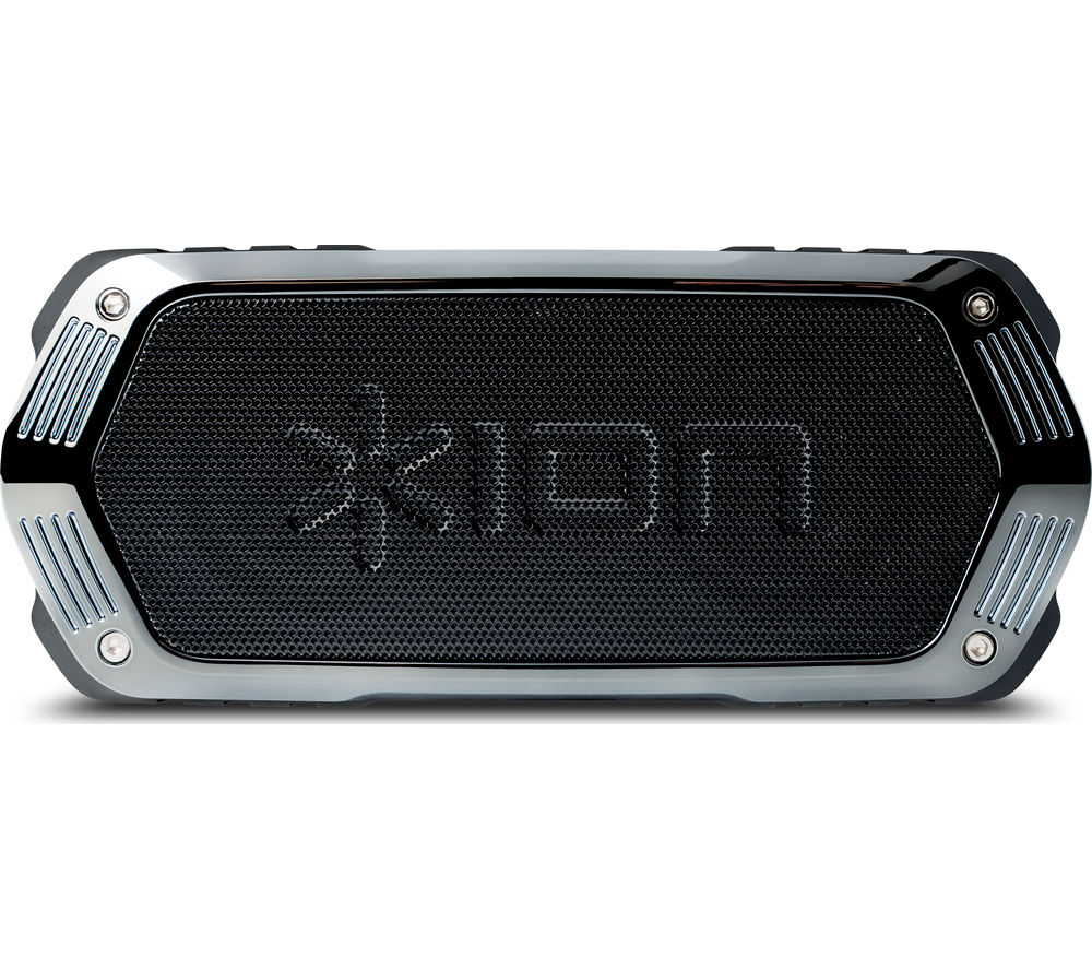 ION Aquaboom Portable Bluetooth Wireless Speaker - Black