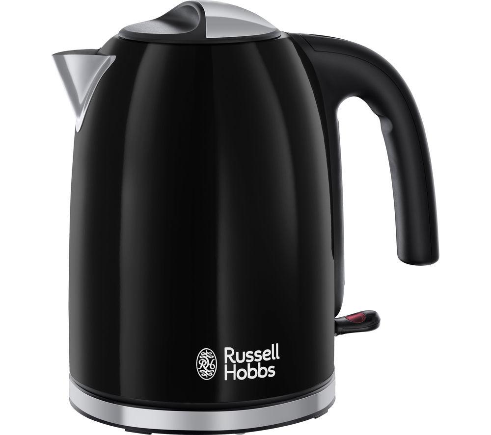 RUSSELL HOBBS  Colours Plus 20413 Jug Kettle  Black Black