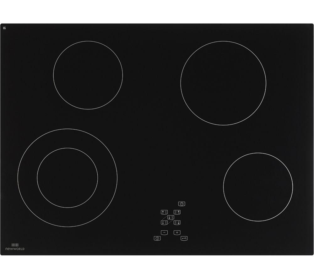 NEW WORLD NWCT701 Ceramic Hob - Black