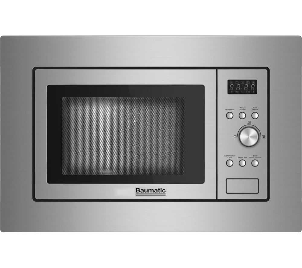 BAUMATIC  BMIS3817 Builtin Solo Microwave  Stainless Steel Stainless Steel