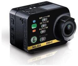 NILOX Evo 4K Action Camcorder - Black