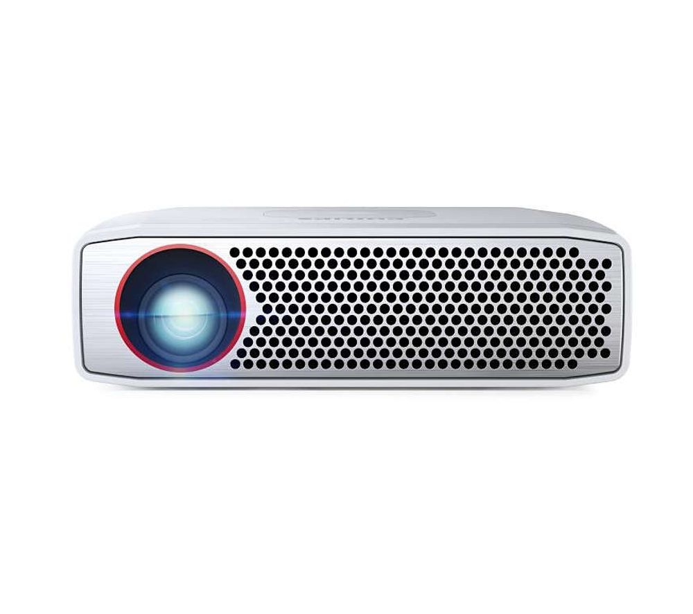 Philips picopix ppx4835 short throw hd ready portable for Hd pocket projector