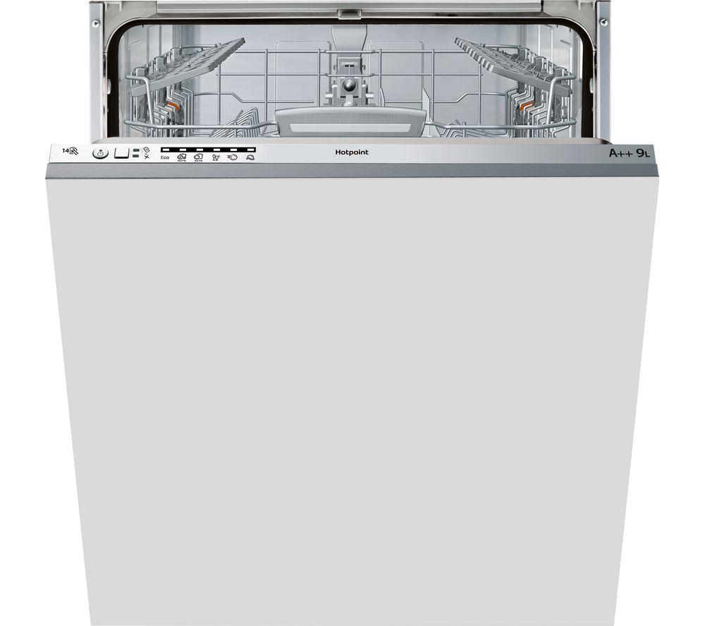 HOTPOINT LTB 6M126 Fullsize Integrated Dishwasher