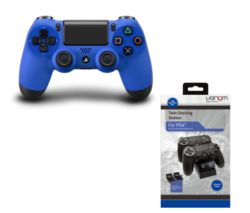 SONY DualShock 4 Wave Wireless Gamepad - Blue