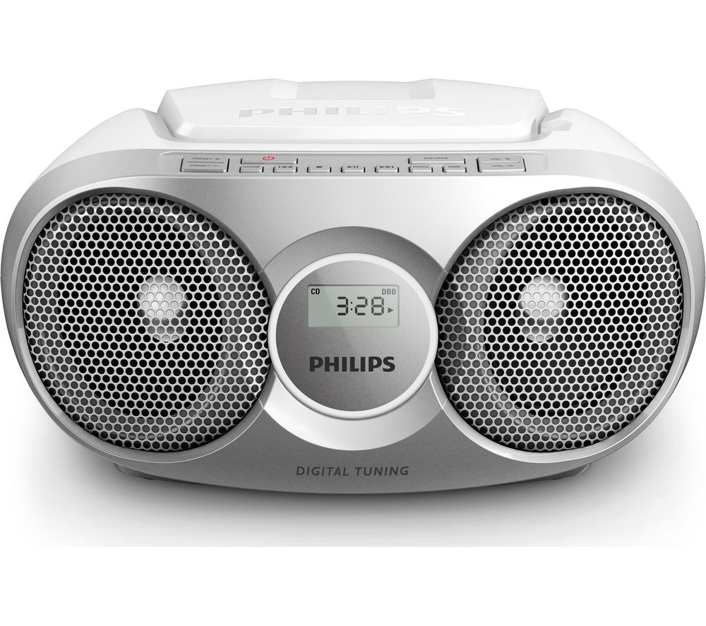 PHILIPS  CD Soundmachine AZ215S Boombox - Grey, Grey.