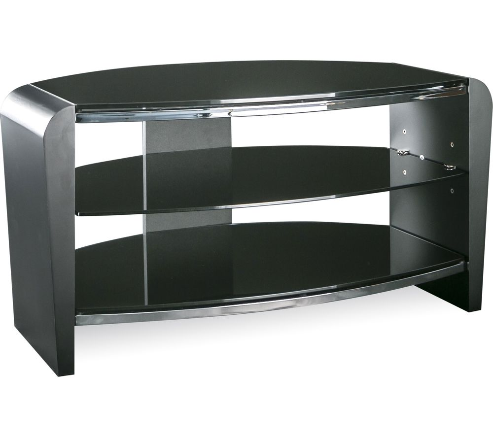ALPHASON  Francium 800 TV Stand  Black Black