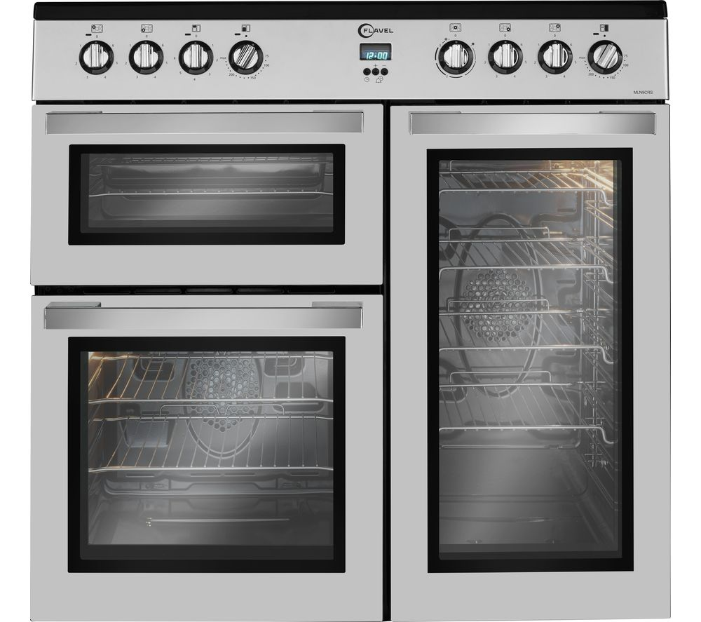flavel mln9crs 90 cm electric range cooker review. Black Bedroom Furniture Sets. Home Design Ideas