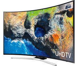 "SAMSUNG UE49MU6200 49"" Smart 4K Ultra HD HDR Curved LED TV"