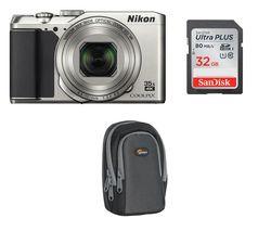NIKON COOLPIX A900 Superzoom Compact Camera - Silver
