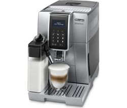DELONGHI DINAMICA ECAM.350.75.S Bean to Cup Coffee Machine - Silver