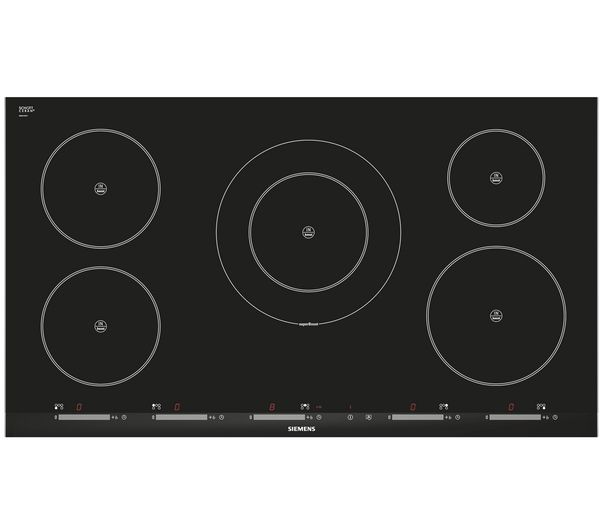 SIEMENS iQ500 EH975SK11E Electric Induction Hob - Black