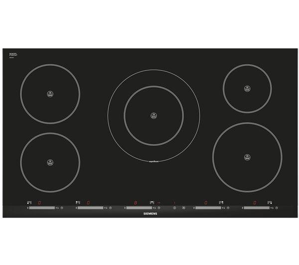 SIEMENS iQ500 EH975SK11E Electric Induction Hob - Black