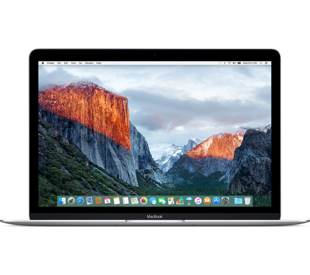 "Image of Apple MacBook 12"" - Silver - 256GB Storage"