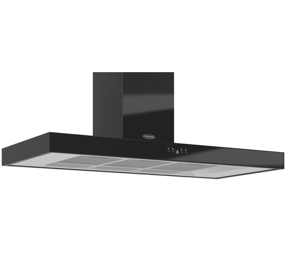 BRITANNIA Arioso K7088A11K Chimney Cooker Hood - Gloss Black