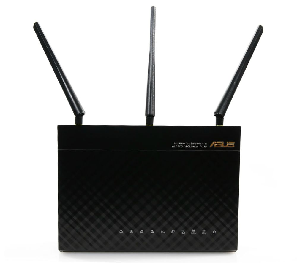 ASUS DSL-AC68U Wireless Modem Router - AC 1900, Dual-band