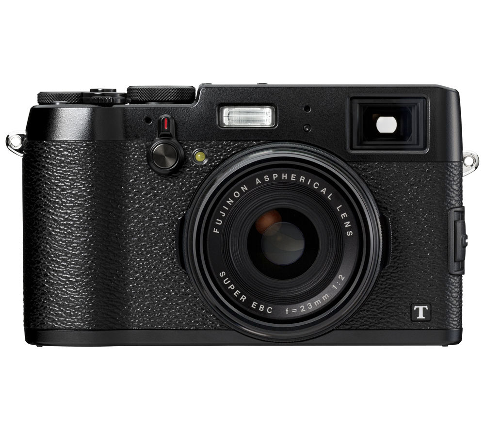 FUJIFILM X100T High Performance Compact Camera - Black