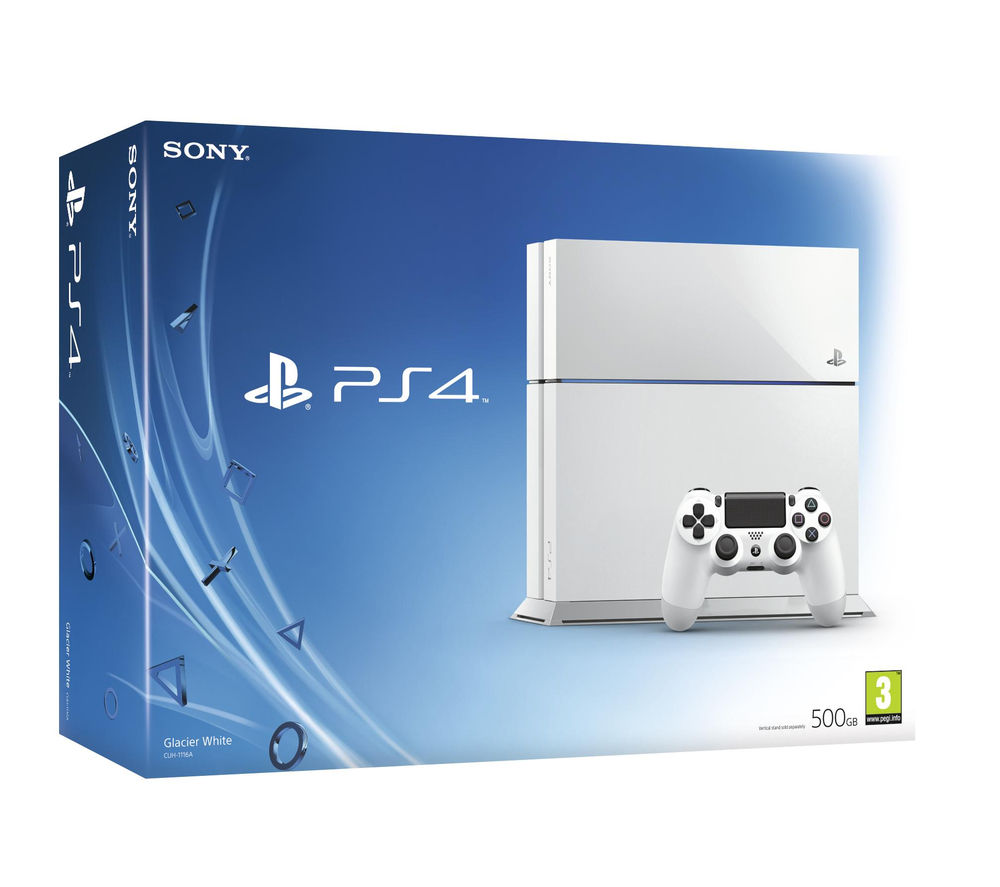 Sony Sony PlayStation 4  White White